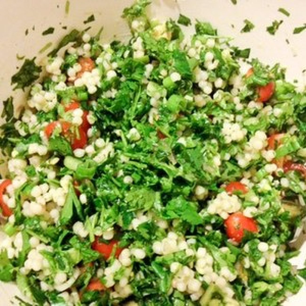 Avocado Tabbouleh Appetizer