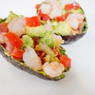 Shrimp and Avocado Salad Appetizer