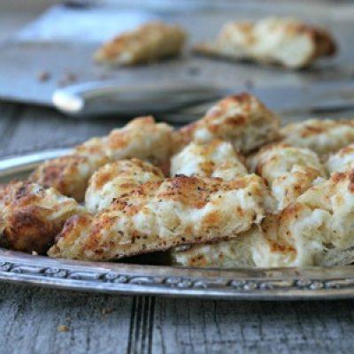 Onion Cheddar Ciabatta Appetizer