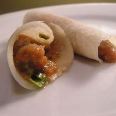 Dinner Tonight: Vegetarian Tacos with Jicama Tortillas Recipe