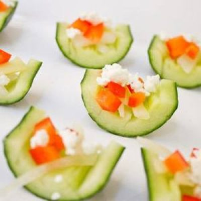 Pickled Cucumber and Onion Appetizer