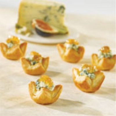 Blue Cheese and Fig Appetizers