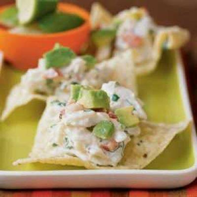 Chipotle-Lime Crab Crisps