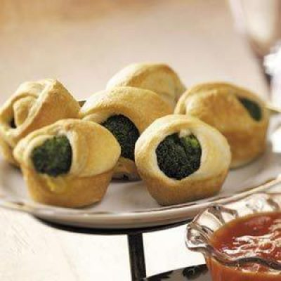 Broccoli Crescent Appetizers