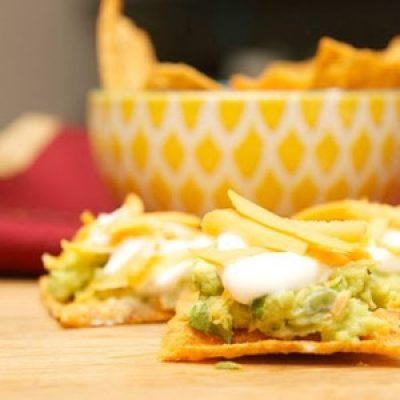 Harvest Cheddar Guacamole Appetizer #UniqueInEveryWave recipes