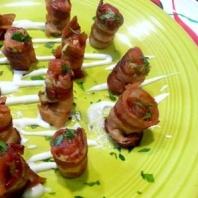 Bacon Guacamole Appetizer Bites recipes