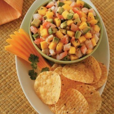 Mango Avocado and Shrimp Appetizer Recipe