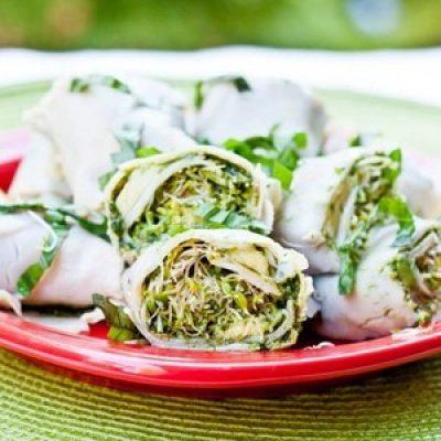 Turkey Avocado Roll Ups