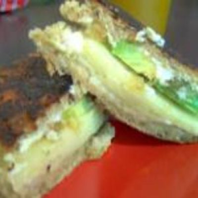 Grilled Havarti and Avocado Sandwiches
