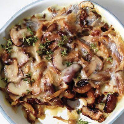 Taleggio-and-Roasted-Mushroom Dip