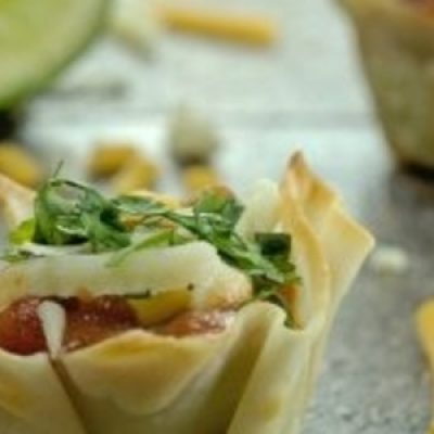 Guacamole Appetizer Bites recipes
