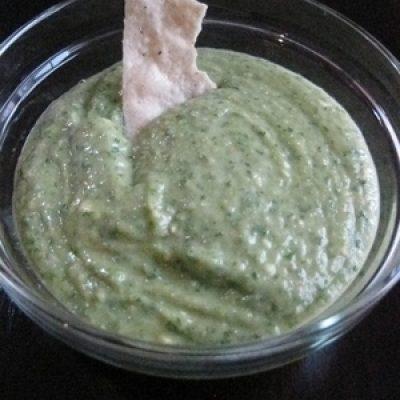 Cilantro-Lime Chimichurri with Avocado