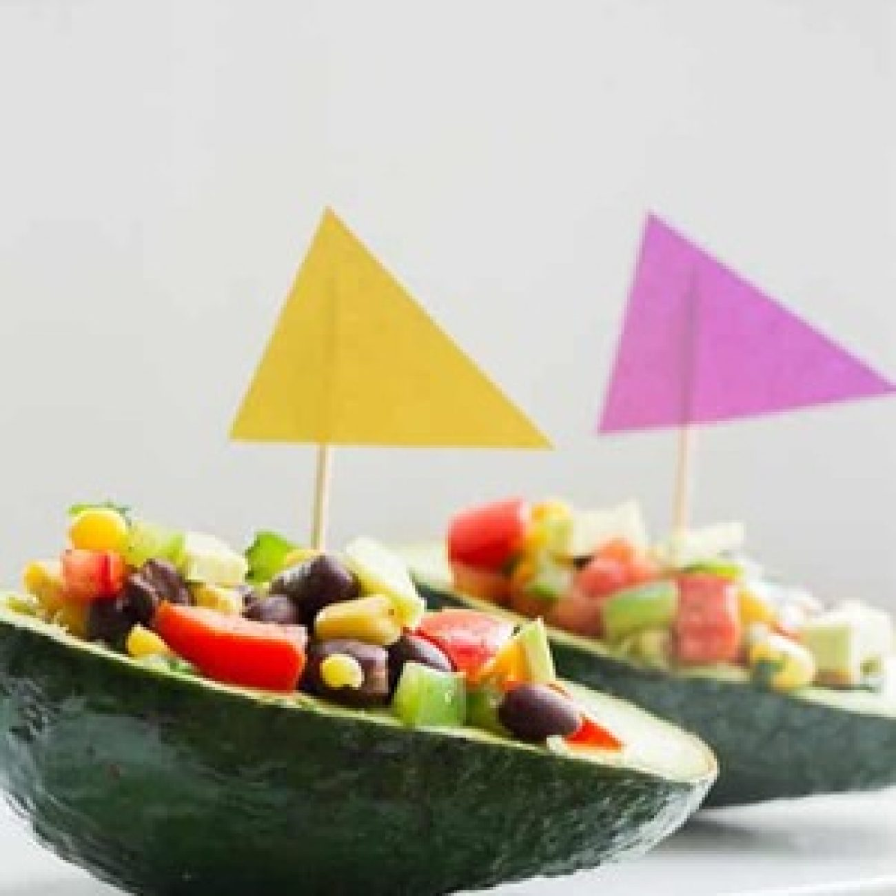 Corn Salad Avocado Party Appetizer