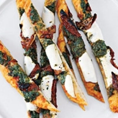 Swizzle-Stick Pizza Appetizers recipes